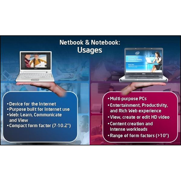 What is the difference of a notebook and a laptop?