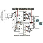 Modified Sine Wave Inverter Circuit Diagram, Image