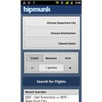 Finding flights with Hipmunk