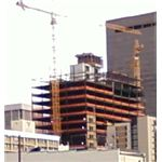 Xcel building construction, June 2009