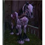 Skeletal Horse Mount sold in Brill