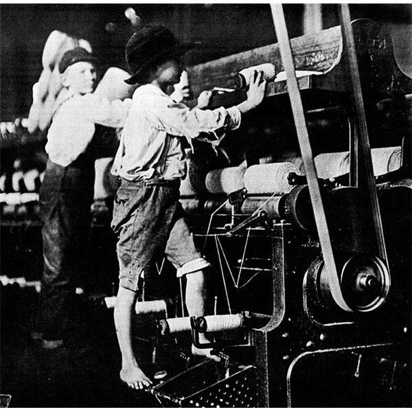 child labor laws Child hurriers working in  that the shameful practice of child labor should have played an important role in the industrial revolution from its outset is not.
