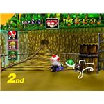 Mario Kart 64 is more streamlined than its predecessor, but it's still a lot of fun.