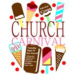Church Carnival Flyer Template 3 Ice Cream