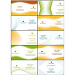 OpenOffice Vector Business Card Templates