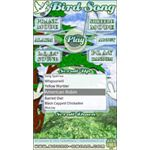 Bird song droid app-bird software-pic