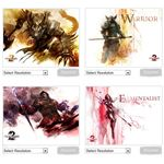 Guild Wars 2 Professions Wallpaper