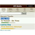UPS Mobile Screenshot2