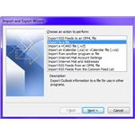 Fig 2 - Export Microsoft Outlook Contacts - Export to a File