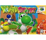 Yoshi's Story - Original N64 Box Art