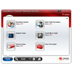 User Interface of Trend Micro Titanium Maximum Security