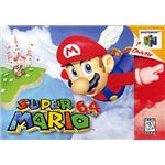 Super Mario 64 - Original N64 Box Art