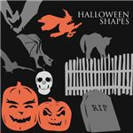 10 Halloween Shapes