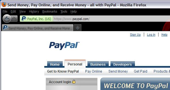 Real vs. Fake PayPal Sites