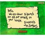 Zombie Threatening Note