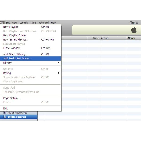 how to find where itunes music is stored on computer
