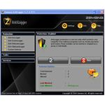 Zemana Antilogger Main Window