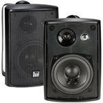 Dual 5 Black 3 way 100 watt speakers