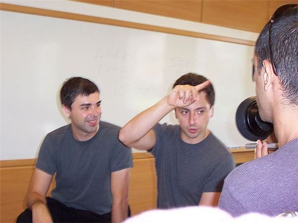 Larry Page and Sergey Brin, Co-Founders of Google