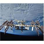 The ISS on September 8, 2009