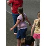 An overweight child - photo by Walter Siegmund - released into public domain under GNU Free Documentation License