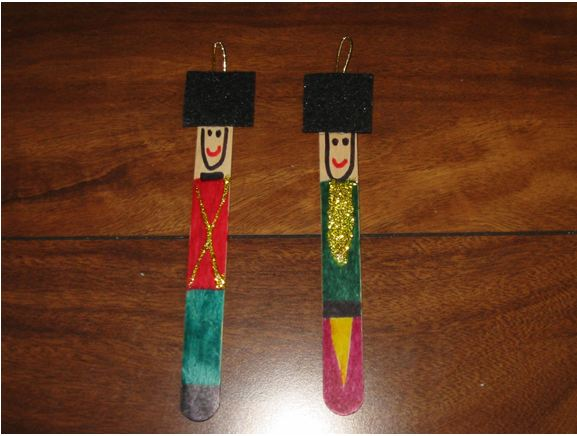Popsicle (Craft) Stick Nutcrackers