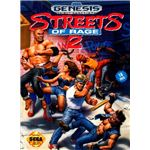 Streets of Rage 2 (Genesis packaging)