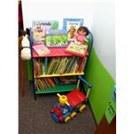 Create inviting spaces for children to enjoy books