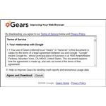 Gears Terms of Service