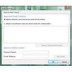 E-mail Blocking Option in KSS