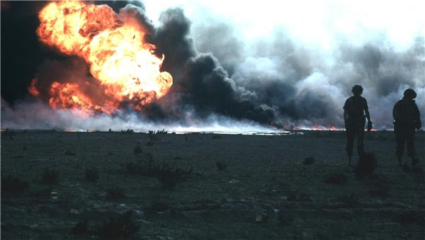 The Burning of the Kuwait Oil Fields