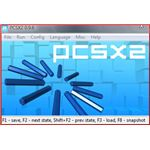 PCSX2 Main Screen when it runs