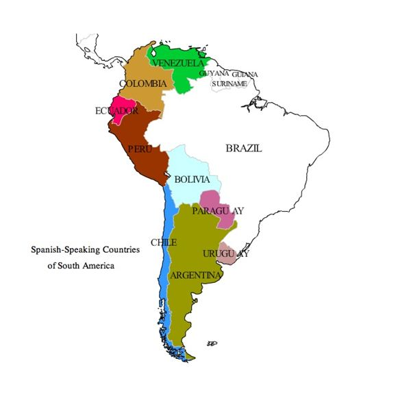 Names of Nationalties in Spanish: A Lesson Covering Central and ...