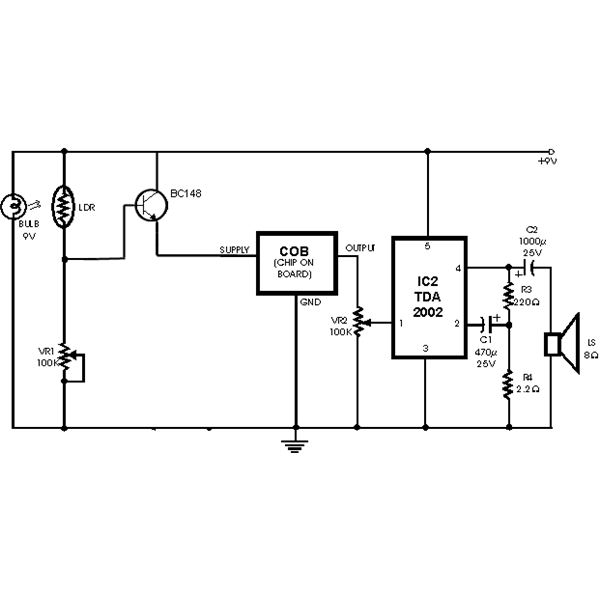 photoelectric smoke detector circuit diagram  u2013 periodic  u0026 diagrams science