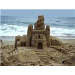 Sand castle image courtesy of Bays Edge