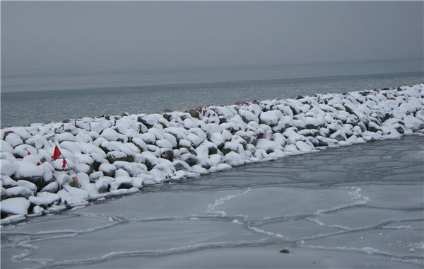 Winter on Baltic Sea