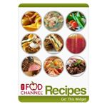 Food Channel Recipe Widget