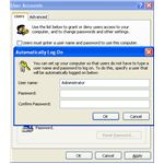 Fig 2 - Setting up Default Login