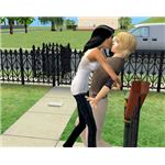 A Sim with romantic traits will have an advantage