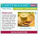 South Beach Recipe Widget