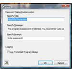Password Dialog Customization