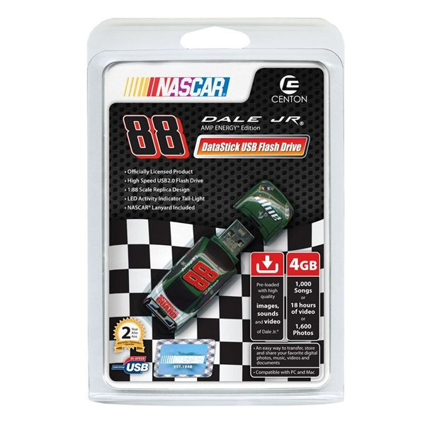 NASCAR Flash Drives from Centon