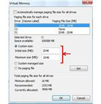 Virtual Memory 2 page files 2