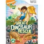 Go Diego Go Dinosaur Great Rescue Wii