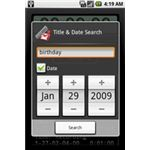 Google Android Voice Recorder Search Function