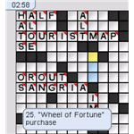 New York Times - Classics Vol. 1 - Crossword Puzzle Display Screenshot