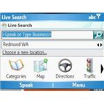 Windows Mobile Live Search