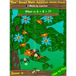 Math Games for Kids - Bee Smart Spider Attack Game