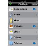 File Magic files on the iPod Touch