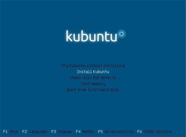Installing Kubuntu